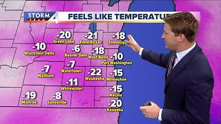Sunny and very cold again Friday - Video