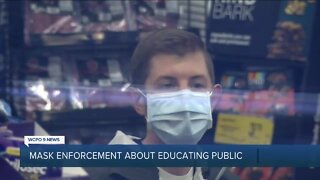 Officials: Mask order about education, not punishment