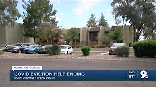 COVID eviction protections ending soon