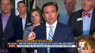 Mayor unveils proposed budget - Video