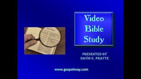 Video Bible Study: Book of Amos - 7