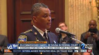 De Sousa to face Federal judge Monday on tax charges