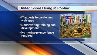Workers Wanted at United Shore - Video