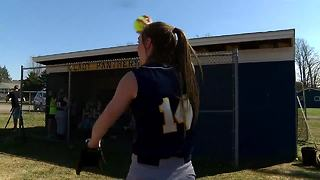 Franklinville's Ally Haskell throws 12th career no-hitter