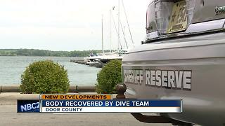 Body found in water at Door County marina - Video
