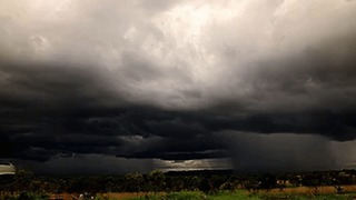 Storm Clouds Roll Into Kimberley, Western Australia - Video