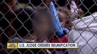 Judge orders end of family separations at border