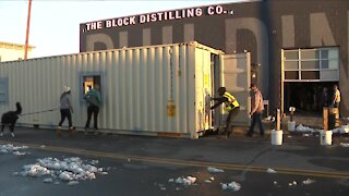 Denver container company gets innovative to keep business alive during pandemic