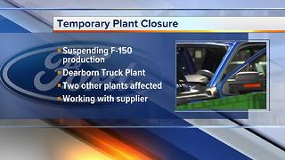Ford suspending F-150 production at Dearborn plant due to parts shortage - Video