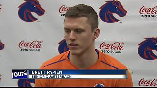 All eyes will be on Brett Rypien for his year at QB - Video
