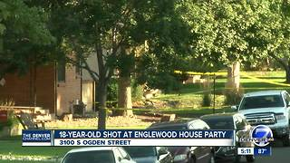 Woman shot during house party in Englewood - Video