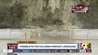 Possible fix for Columbia Parkway landslides
