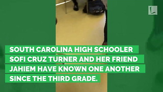 Teen Girl Surprises Classmate with Gift That Leaves Him Sobbing