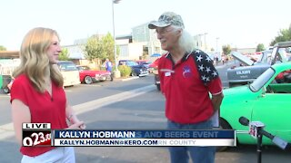 Hotrods, Burgers and Beer Fundraiser