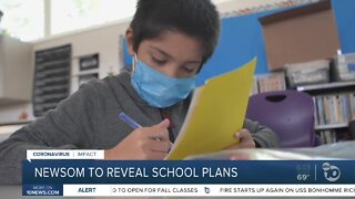 Governor expected to reveal Calif. school plans