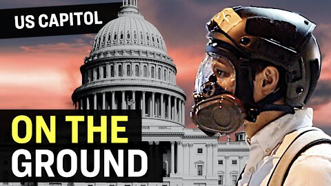 Footage: US Capitol Breached; Clash with Police; 4 People Die; National Guard | Facts Matter
