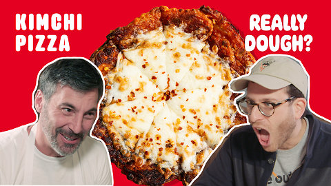 Kimchi Pizza: Is It Still a Pizza if You Eat It With Chopsticks?
