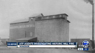 ATF agents investigating historic mill fire - Video