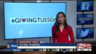 Local organizations participating in #GivingTuesday - Video