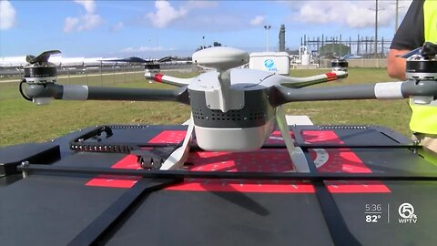FPL uses drones to speed power restoration