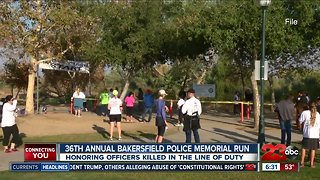 36th Annual Bakersfield Police Department Memorial Run