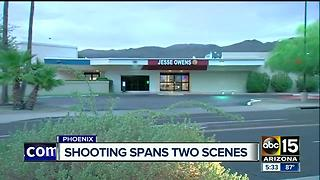 Phoenix police shooting investigation spans two scenes - Video