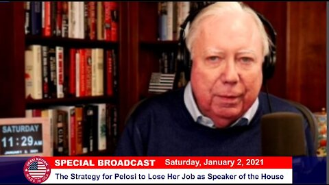 Dr Corsi NEWS 01-02-21: The Strategy for Pelosi to Lose Her Job as Speaker of the House