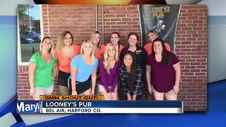 Looney's Pub gives GMM a shout out - Video