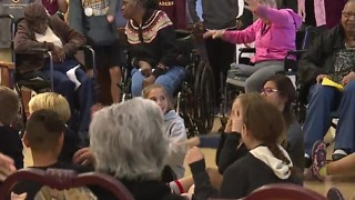 Over 900 students participate in volunteer project - Video