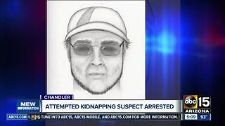 Attempted Chandler kidnapping suspect arrested - Video