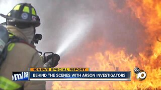 Behind the scenes with San Diego's arson investigators