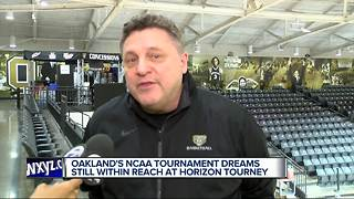 Oakland's NCAA Tournament dreams still within reach at Motor City Madness - Video