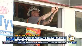 Battle plan for more affordable housing - Video