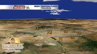 Chief Meteorologist Erin Christiansen's KGUN 9 Forecast Tuesday, December 5, 2017 - Video