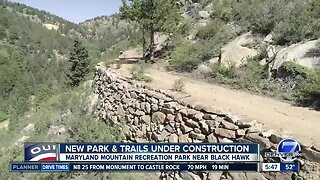 New park & trails under construction in Black Hawk