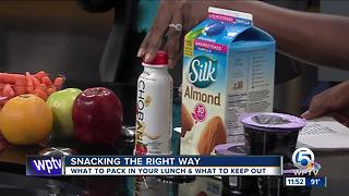 Pack a healthy lunch for your children - Video
