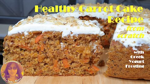 Healthy Carrot Cake Recipe from Scratch | Wheat Flour Carrot Cake Recipe Easy | RICE COOKER CAKES