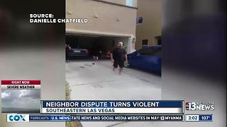 Man who attacked neighbor arrested - Video