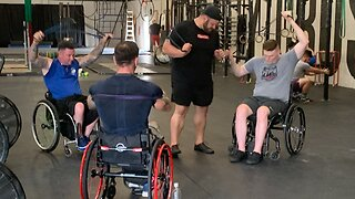 Veterans working together to regain metal and physical strength