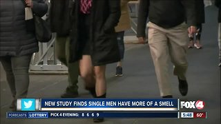 Study: single men have more of a smell