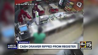 Police looking for thieves who robbed Phoenix subway - Video