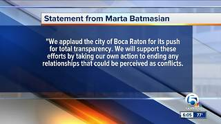 Commercial property owners: 'We will cut ties with Boca mayor's business' - Video