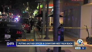Another police officer to patrol downtown West Palm Beach - Video