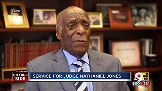 Mourners say a final goodbye to Nathaniel Jones