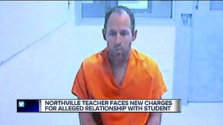 Northville teacher faces new charges for alleged relationship with student
