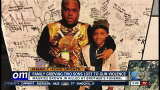 Family mourns two sons lost to gun violence