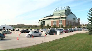 New testing site at Miller Park is now open