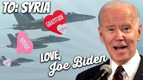 Biden Pushes Masks And Safety, Then Forgets His Own Mask, Launches Airstrikes on Syria | Ep 149