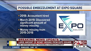 FBI investigating possible embezzlement at Expo Square