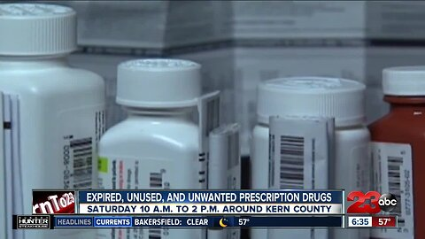 Safely dispose of expired, unused, and unwanted prescription drugs this Saturday